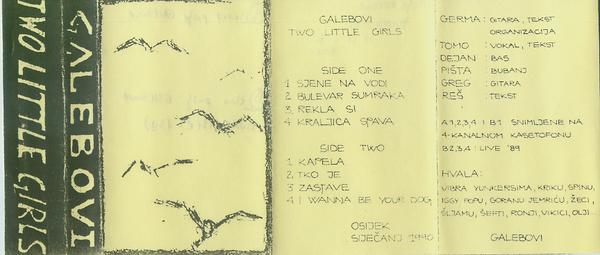Galebovi - Two Little Girls