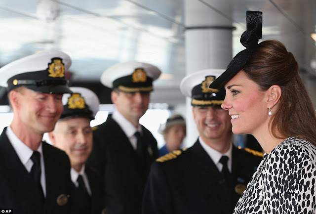 Duchess of Cambridge christening The Royal Princess