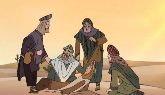 phim hoạt hình nước trên sa mạc