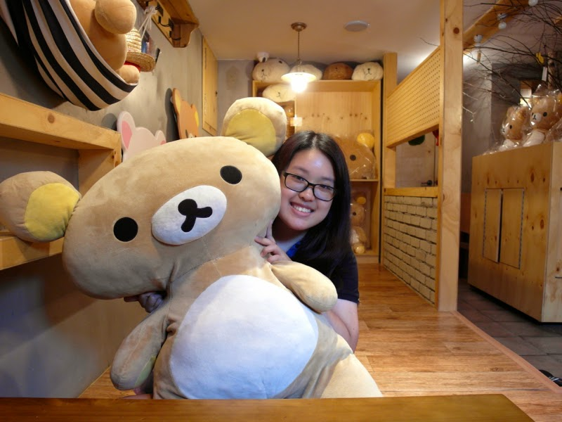 Ewha Summer Studies capiloomloom Rilakkuma Cafe Seoul South Korea lunarrive travel blog