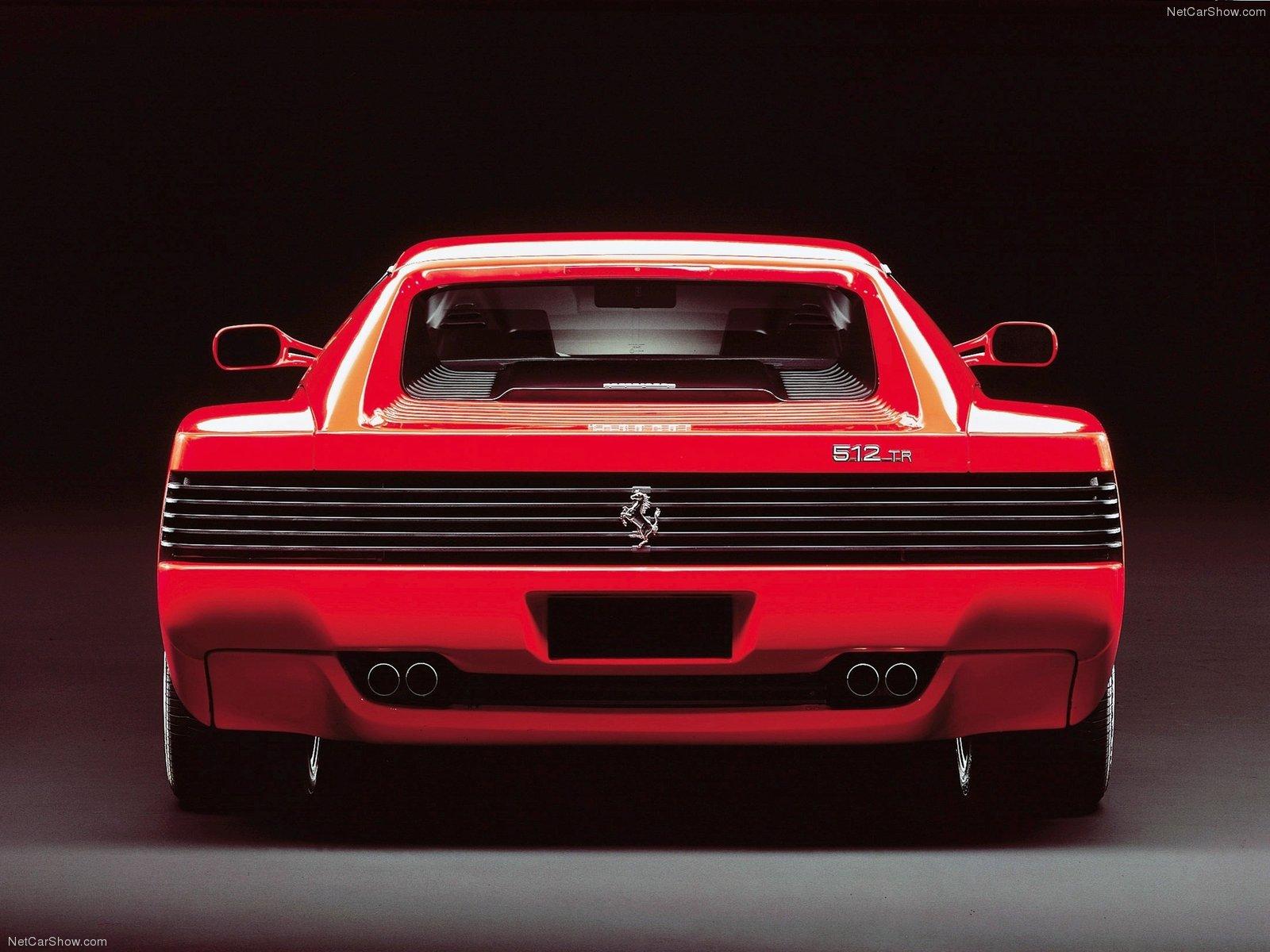 Hình ảnh siêu xe Ferrari 512 TR 1991 & nội ngoại thất
