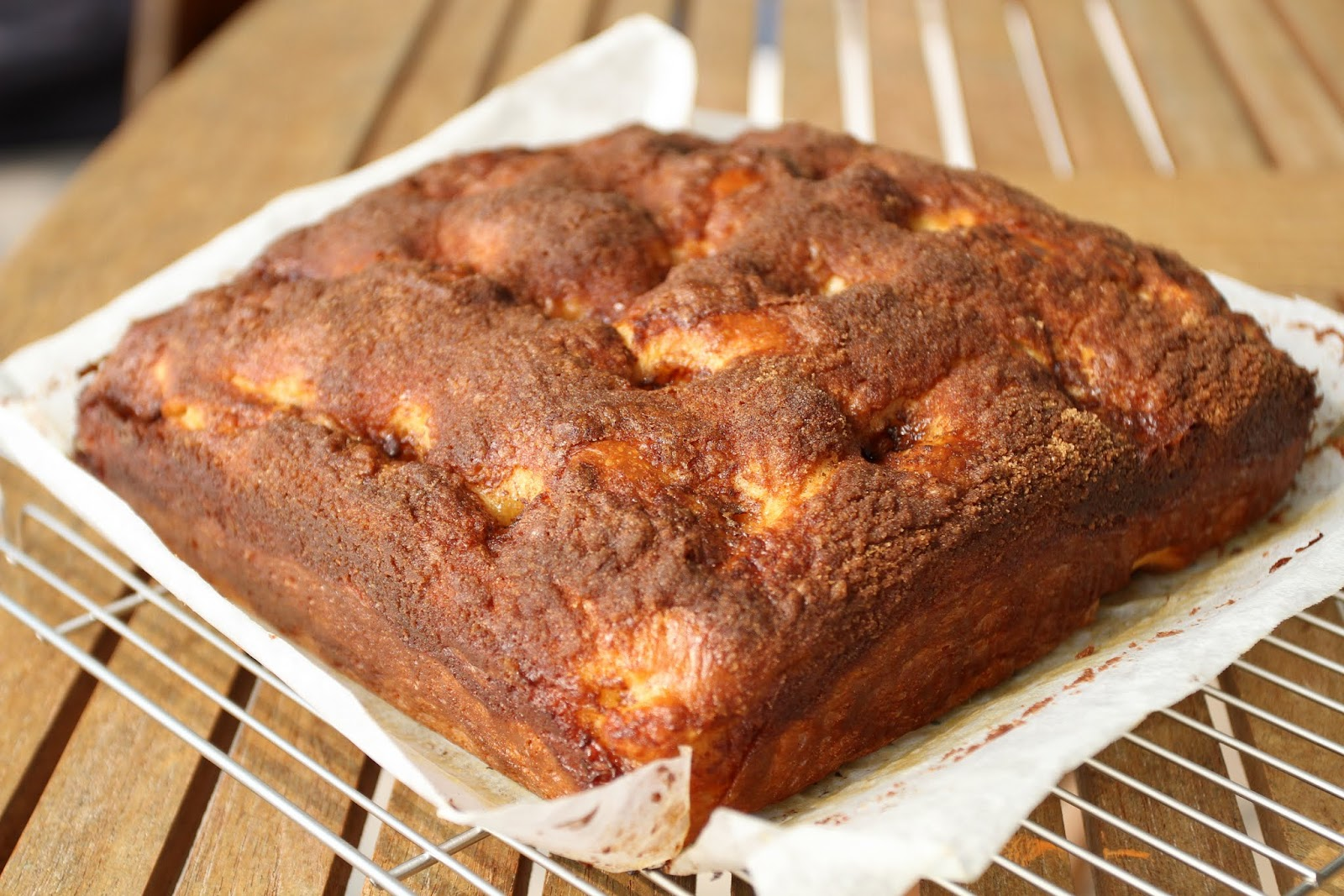 pepsakoy: Moravian Sugar Cake