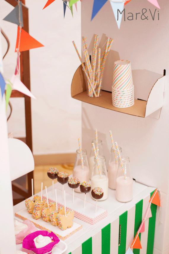detalles de una pasteleria para niños