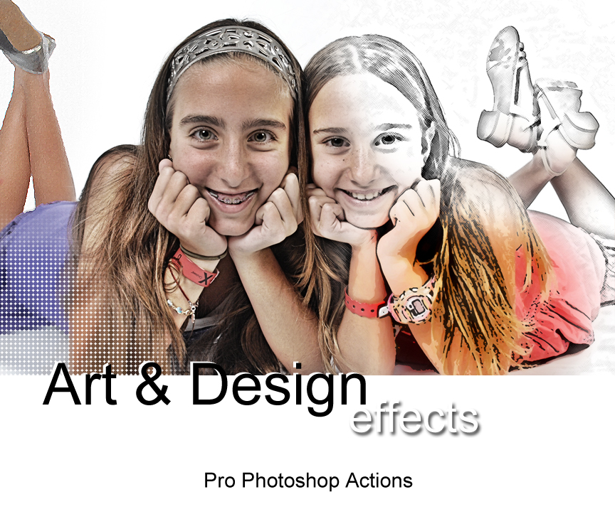 This section of Pro Photoshop