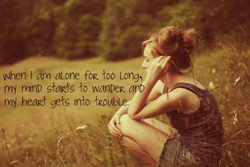 sad alone girl quotes - photo #22