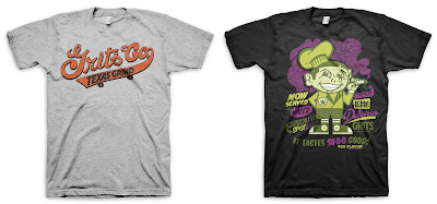 The Nitty Gritty Series by Grits - Grits Co. &amp; 4-20 Wake-N-Bake T-Shirts