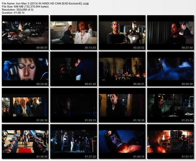 Iron Man 3 Hindi Dubbed Download Screenshot 1