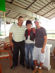 En el hipódromo de Panamá