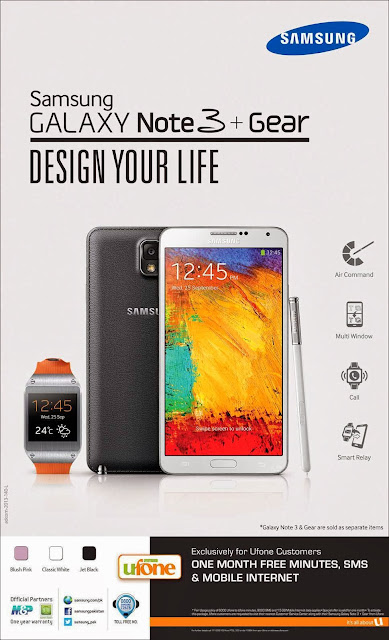 samsung galxy note 3 galaxy gear