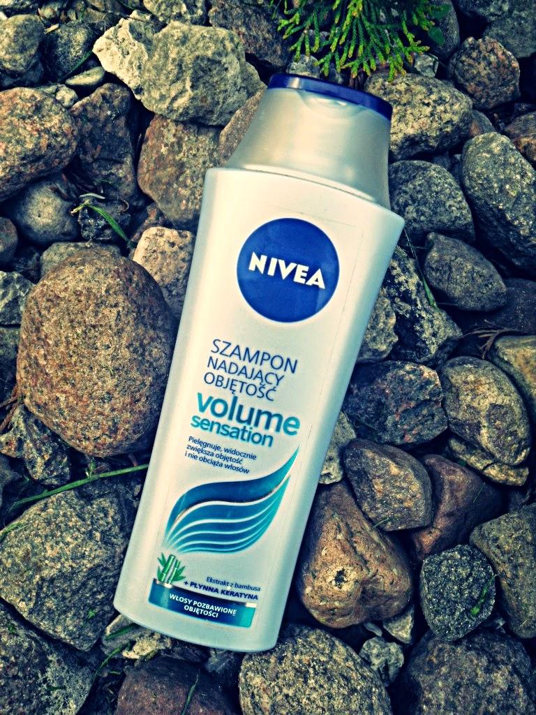 NIVEA volume sensation - szampon nadający objętość