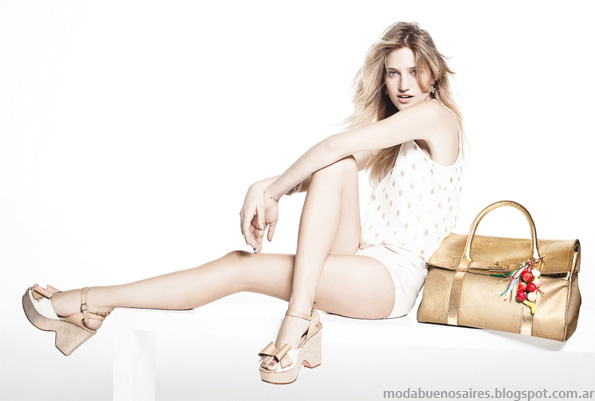 Sofi Martiré primavera verano 2013. Zapatos, sandalias, chatas.