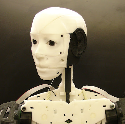 InMoov face and parts