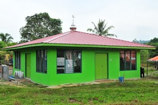 SURAU NANDAGAN YANG SIAP DIBINA