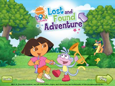 Dora The Explorer Lost And Found Adventure