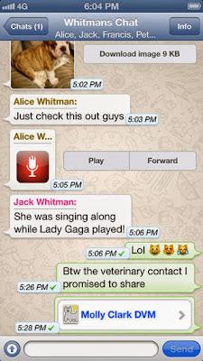 تحميل وشرح تطبيق وأتس آب ماسنجر للايفون مجاناً WhatsApp Messenger IPA-iOS 2.11.4