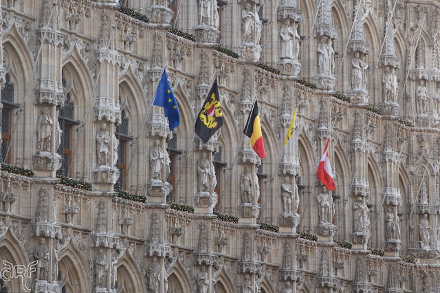 City hall of Leuven, Belgium