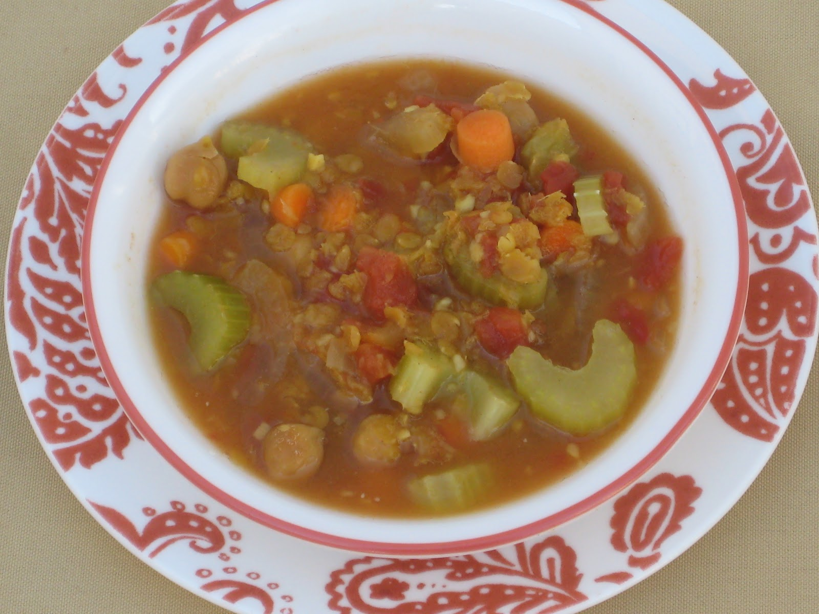 Moroccan lentil stew / Weight loss vitamins for women