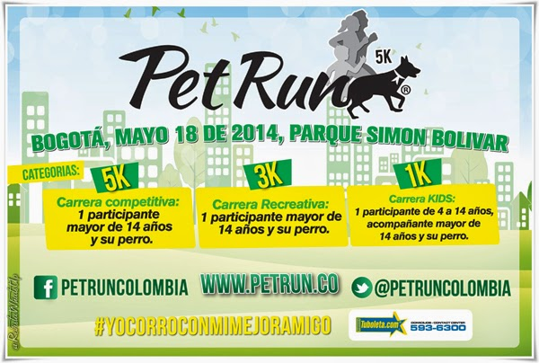 Primera-Pet-Run-Colombia-carrera-amor-canino-2014