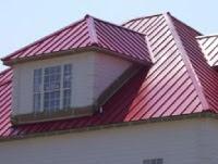 Использование профнастила в ремонте крыши