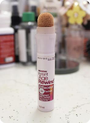 maybelline instant age rewind eraser dark spot concealer