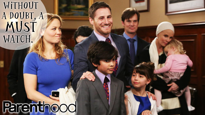 Stream All 5 Seasons of Parenthood on NBC, Hulu Plus, or Amazon Prime