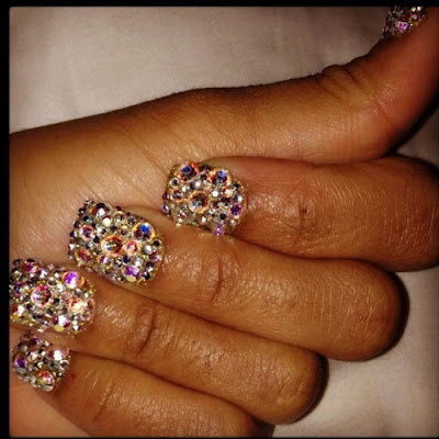 blac chyna treasure nails instagram