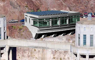 Hoover Dam Multi-Use Green Building designed by Matthew B. Ackerman, LEED-AP AIA of Catalyst Architecture
