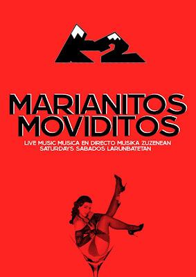 MARIANITOS MOVIDITOS. CONCIERTOS EN EL POTEO BILBAINO.