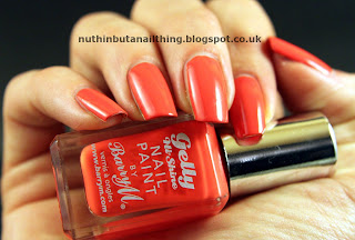 Barry M Gelly Satsuma nail polish