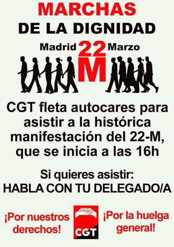 MARCHAMOS A MADRID