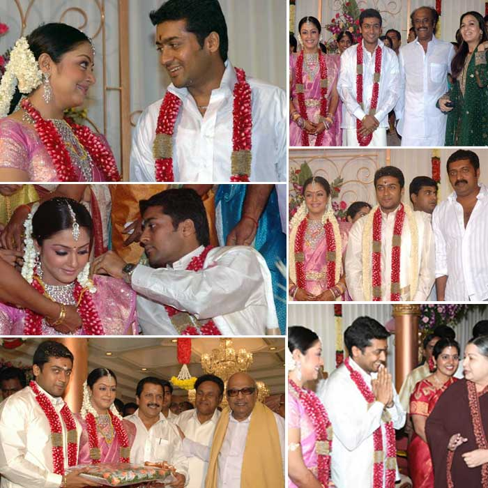 Surya Marriage Album