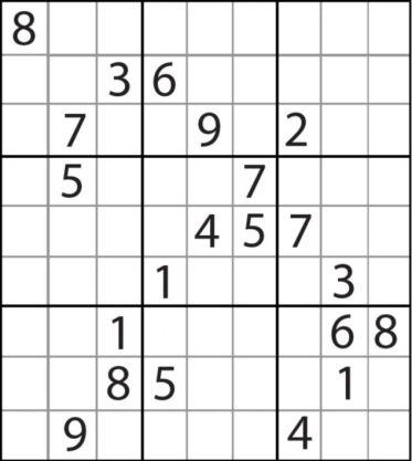 Algorythmes erratum d fi pour cet t r soudre le sudoku le plus difficile au monde - Grille de sudoku diabolique ...