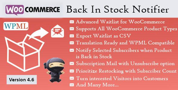 Back In Stock Notifier – WooCommerce Waitlist Pro
