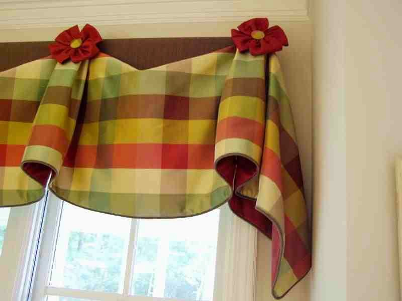 15 modern kitchen curtains ideas and tips 2017 - Modern valances for kitchen ...