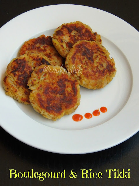 Bottlegourd & rice patties