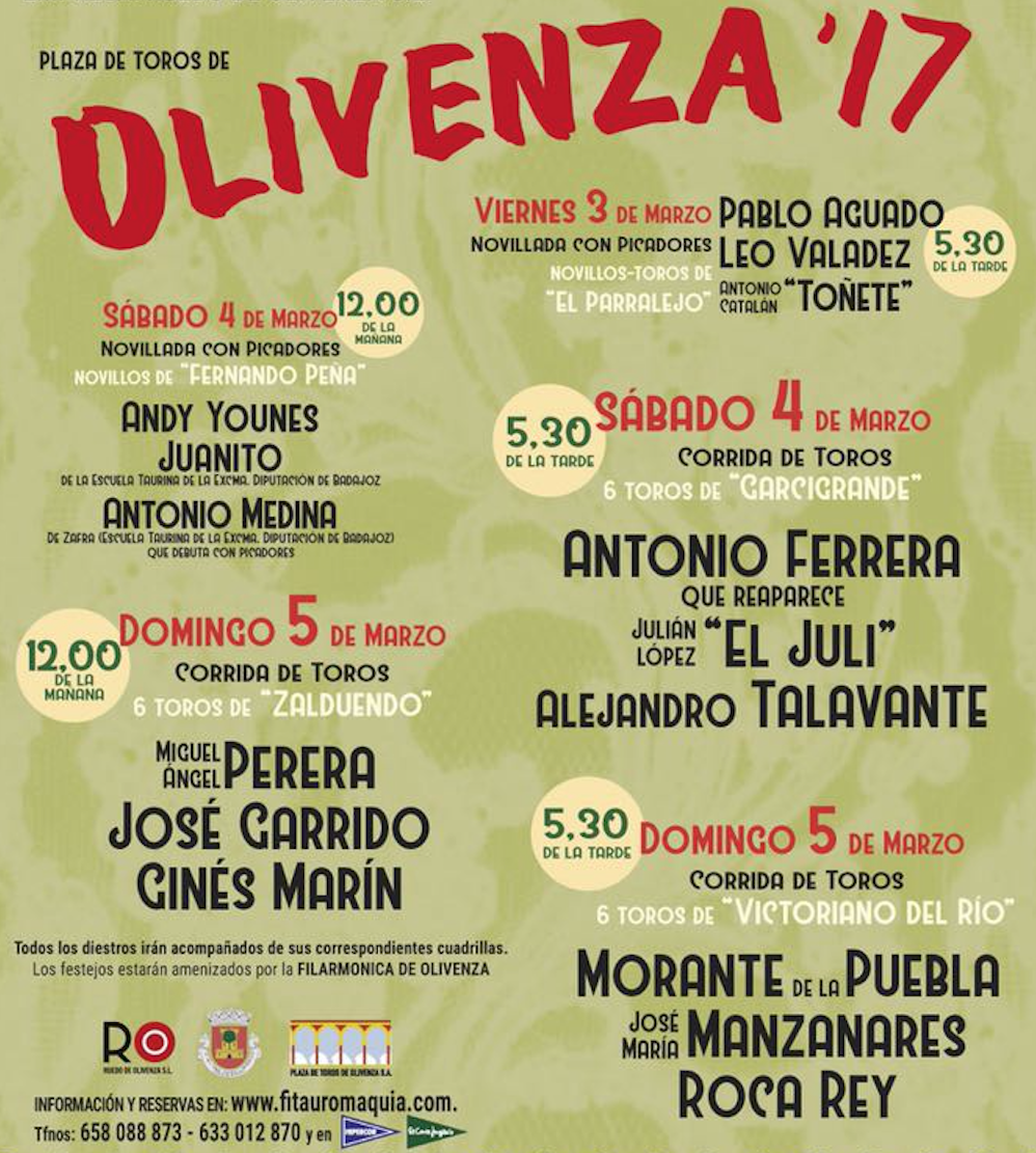 OLIVENÇA - 3 a 5 de Março