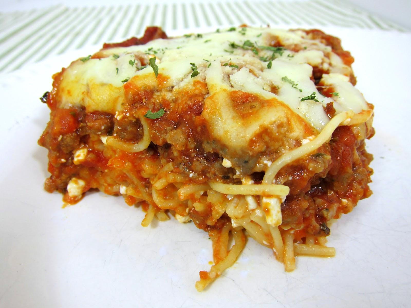 Spaghetti Casserole | Plain Chicken