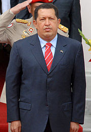 presidente hugo chavez de venezuela