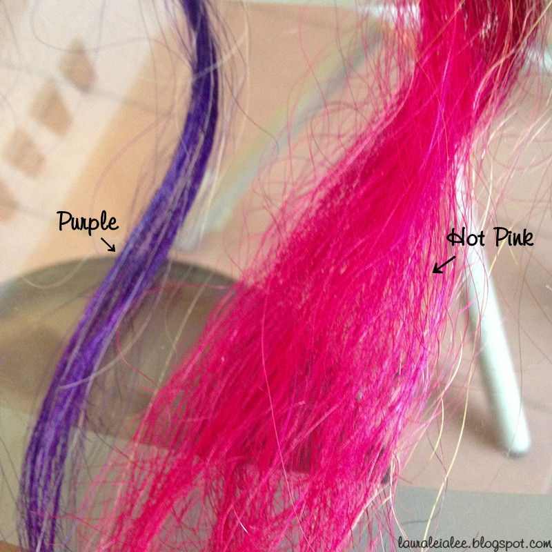 dip dye hair purple and pink - photo #10
