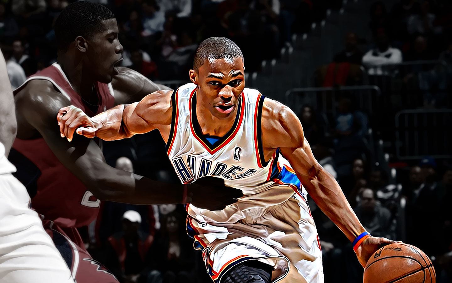 russell westbrook basketball wallpapers nba wallpapers