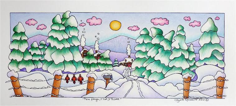 Lyette Roussille, illustrations