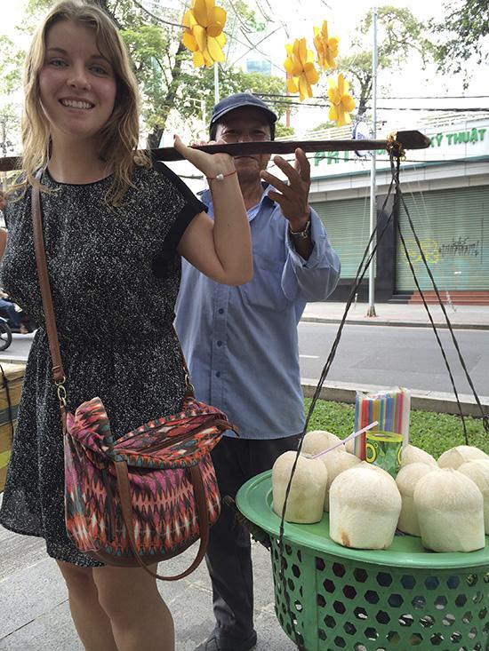 Ho Chi Minh coconuts
