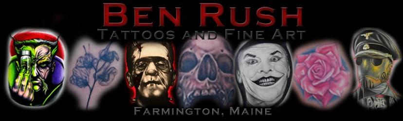 The Art of Ben Rush