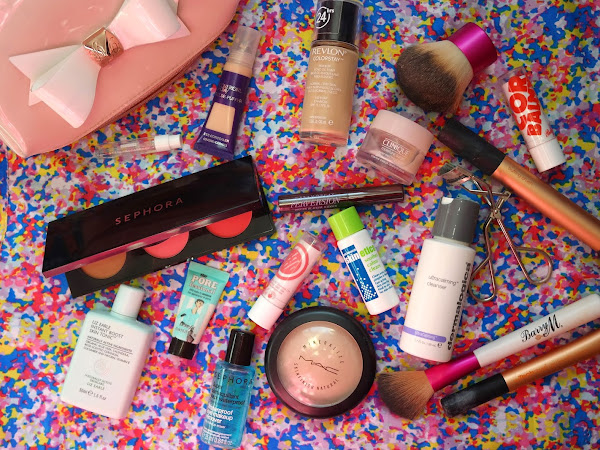 What's In My Spring Travel Makeup Bag