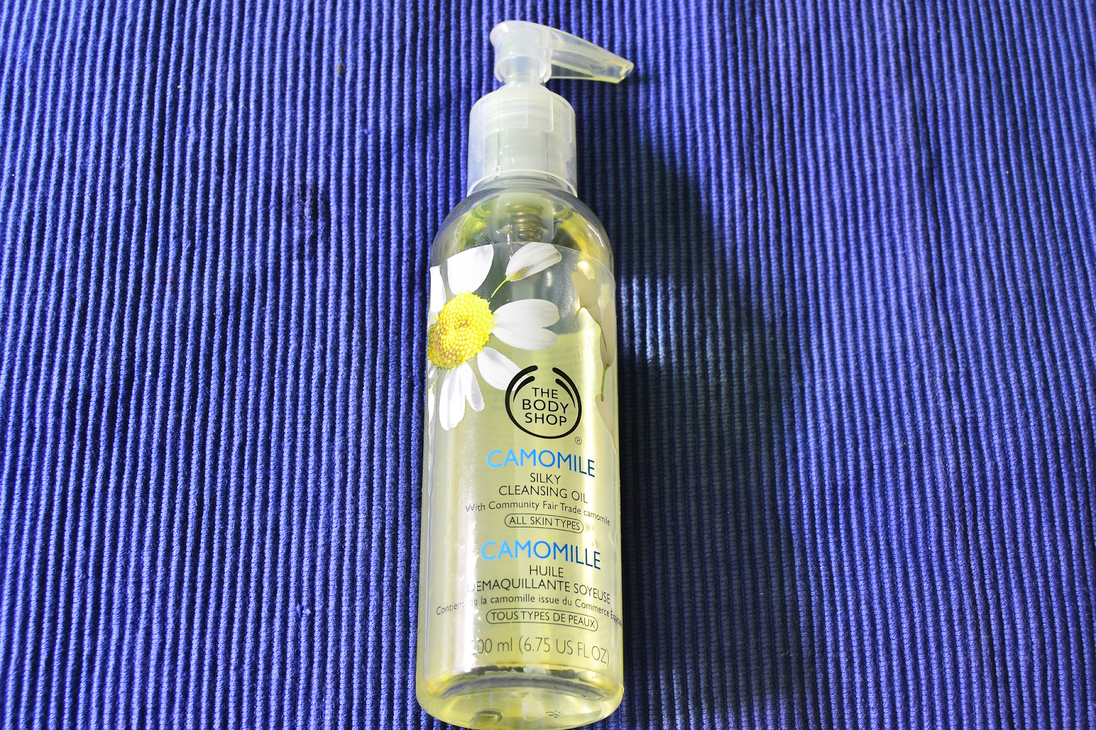 Camomile Silky Cleansing oil, The Body Shop