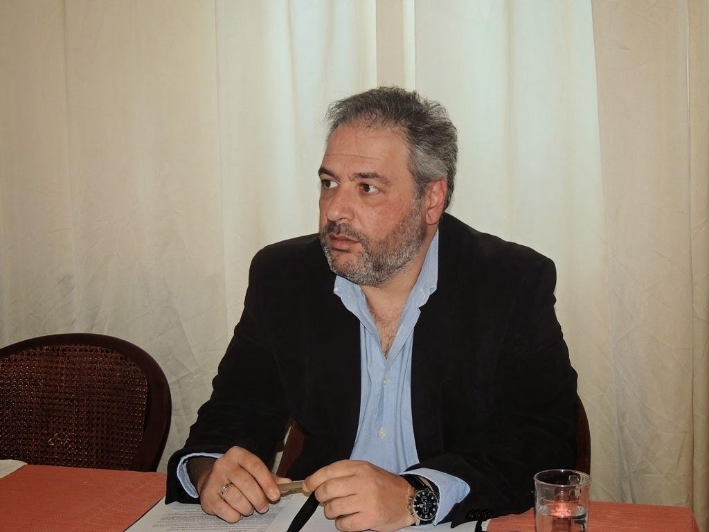 Συνέντευξη του Δημήτρη Βλαχόπουλου, υποψήφιου βουλευτή με την Χρυσή Αυγή στην Κορινθία, στο Τop Channel Kορίνθου