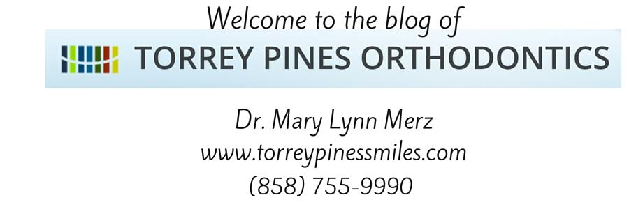"TORREY PINES ORTHODONTICS BLOG:<br><a href=""http://www.torreypinessmiles.com"">Dr. Mary Lynn Merz</a>"