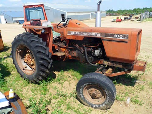 allis chalmers tractor salvage 160