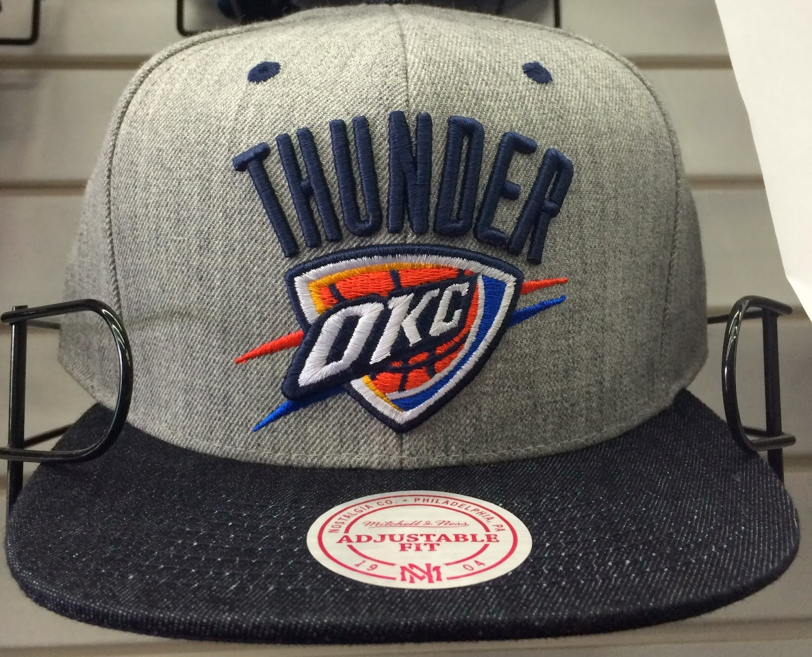 mitchell and ness snapback hats okc snapback hats. Black Bedroom Furniture Sets. Home Design Ideas