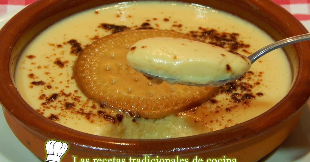 Receta De Natillas Caseras Recetas De Cocina Con Sabor